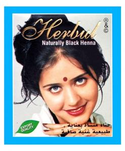 Kana za kosu u crnoj boji