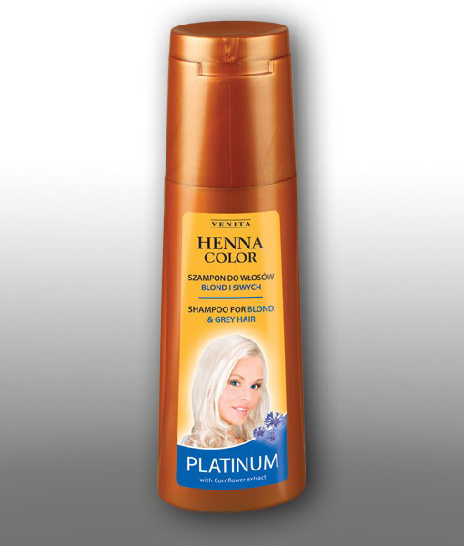 COLOUR PROTECTING & REVIVING SHAMPOO HENNA COLOR ! Henna Color PLATINUM (250 ml)