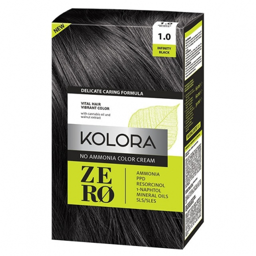 Kolora Zero Crna farba bez stetnih sastojaka