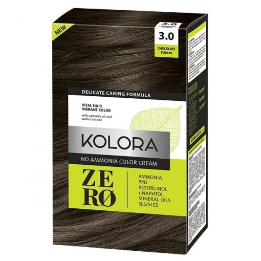 Kolora Zero 3.0 čokoladno smeđa farba za kosu bez amonijaka