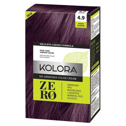 Violet boja za kosu bez amonijaka