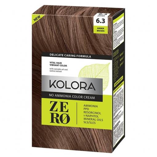 Ćilibar smeđa boja za kosu
