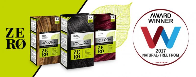 Kolora Zero je prva farba za kosu bez amonijaka, PPD-a i ostalih štetnih sastojaka za smanjivanje rizika od alergijskig reakcija u toku bojenja kose.