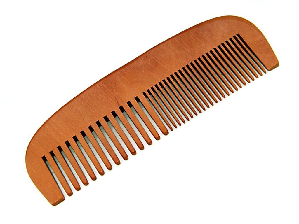 Drveni cesalj za bradu i kosu 15cm bez kutije
