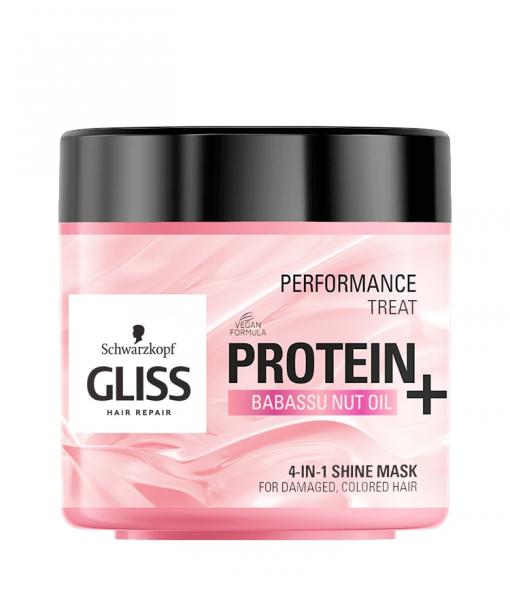 Gliss maska za kosu Shine 4u1
