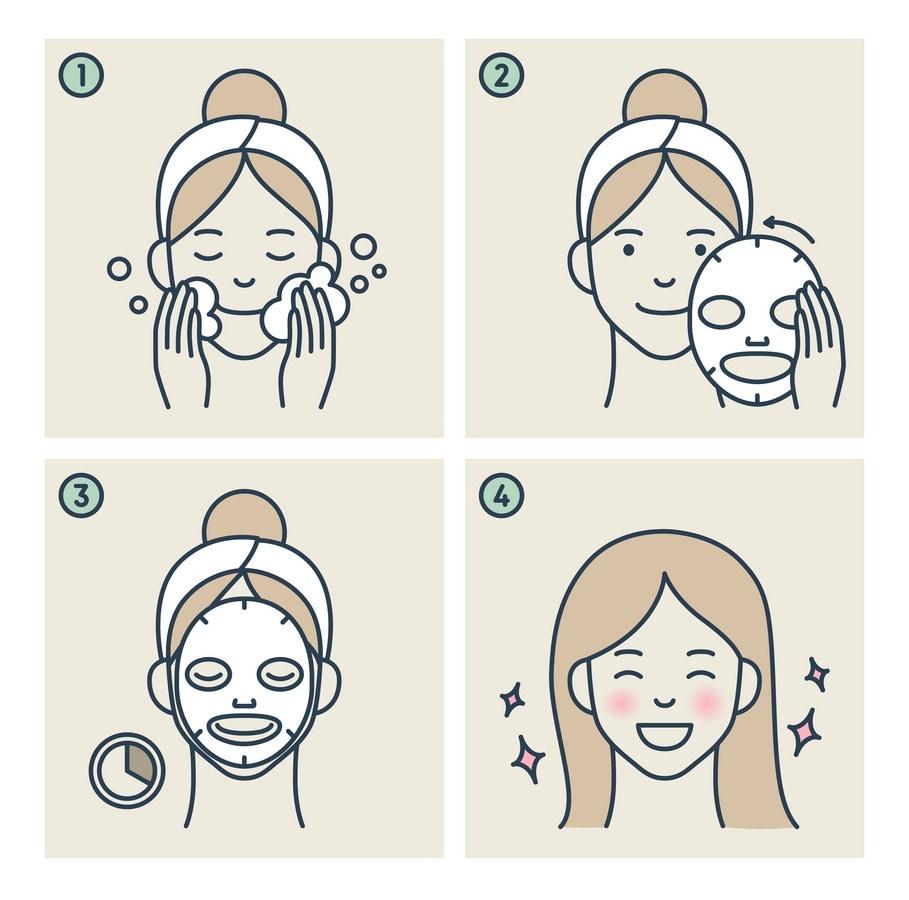 Kako se koriste korejske sheet maske za lice
