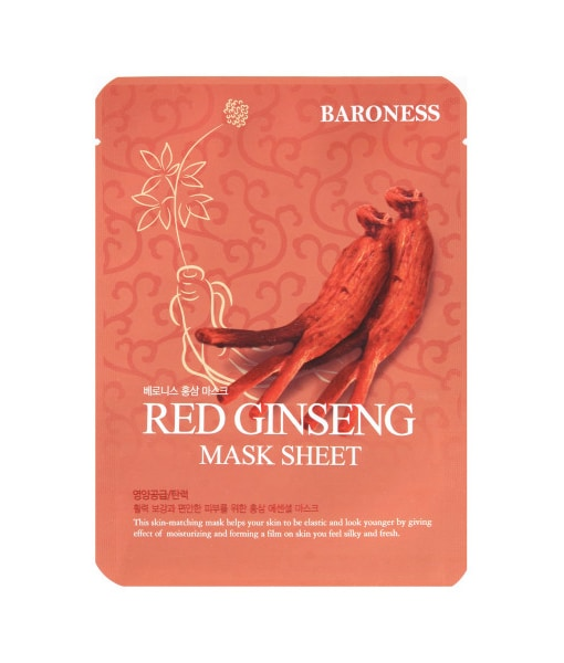 Korejska sheet maska Red Ginseng